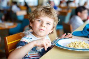 Оформление школьного питания